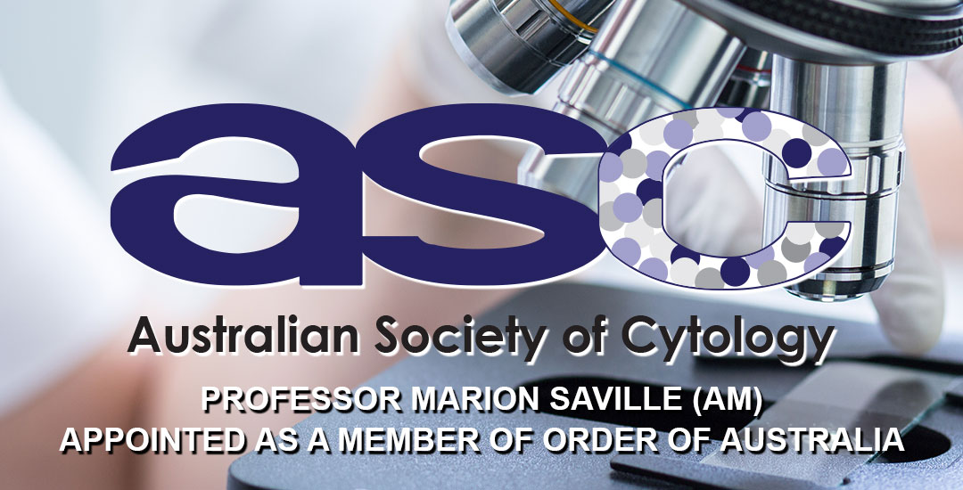 Marion Saville appointed (AM) Order of Australia