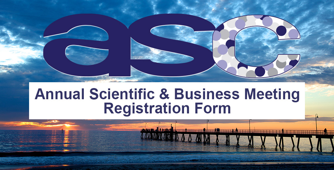 Annual Scientific & Business Meeting Registration